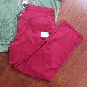 Size 24 Riders by Lee Boot Cut Mid Rise Pants